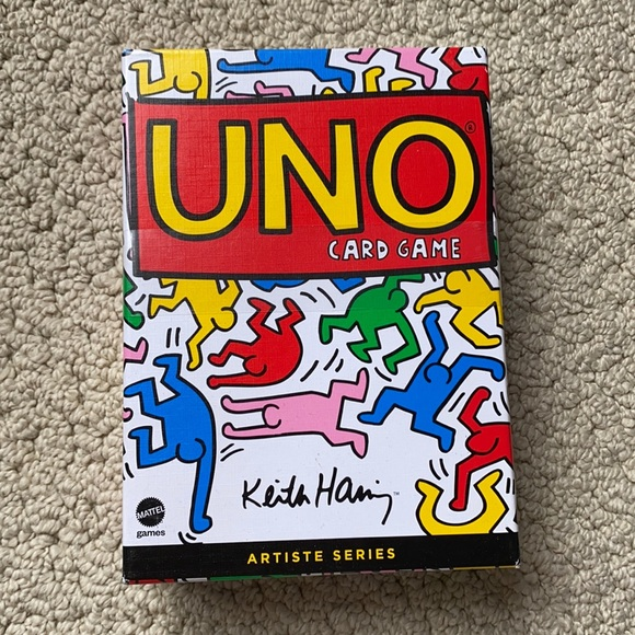 Uno Keith Haring Playing Cards